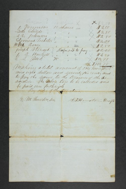 Manhattan Town Association records - Page