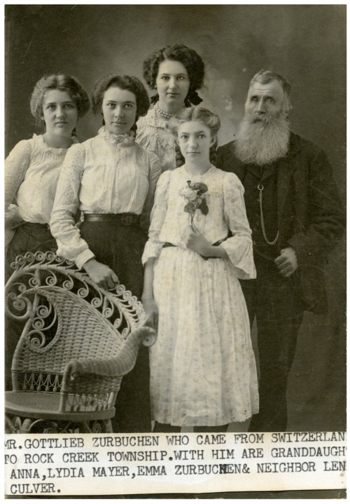 Zurbuchen family in Wabaunsee County, Kansas - Page