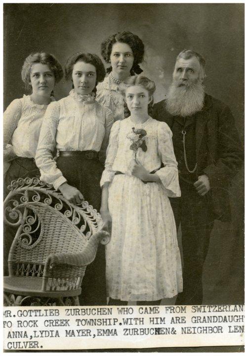 Zurbuchen family in Wabaunsee County, Kansas - Page