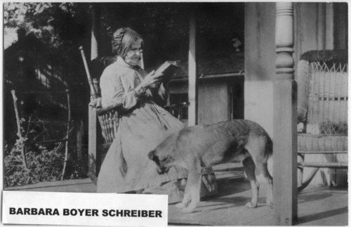 Barbara Boyer Schreiber - Page