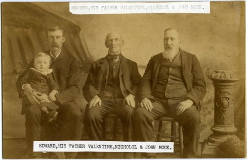 Mock family, Paxico, Kansas - Page