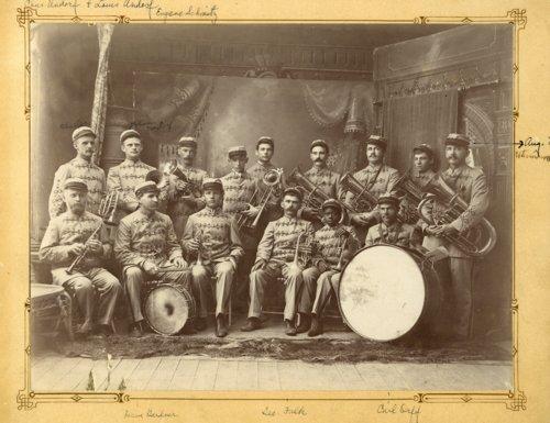Band in Alma, Kansas - Page