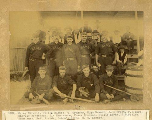 Baseball team in Alma, Kansas - Page