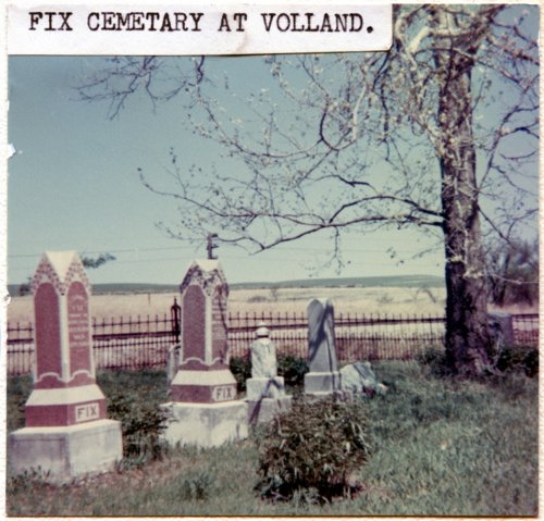 Fix Cemetery, Volland, Kansas - Page