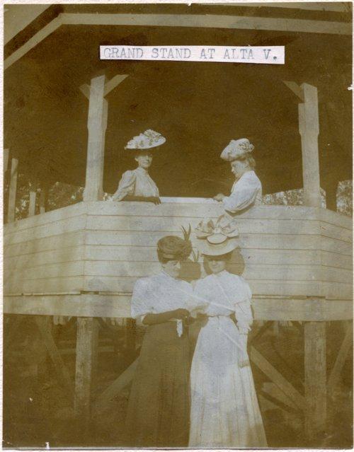 Bandstand in Alta Vista, Kansas - Page