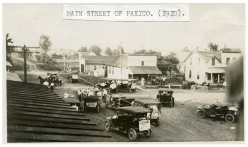Main Street in Paxico, Kansas - Page