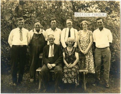 Ellery Gleason family - Page