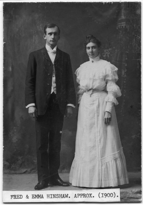 Fred and Emma Hinshaw - Page