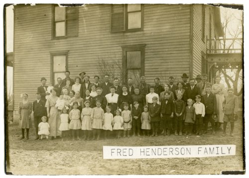 Fred Henderson family - Page