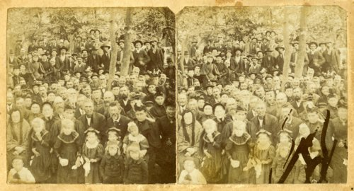 Old Settler's Picnic in Harveyville, Kansas - Page