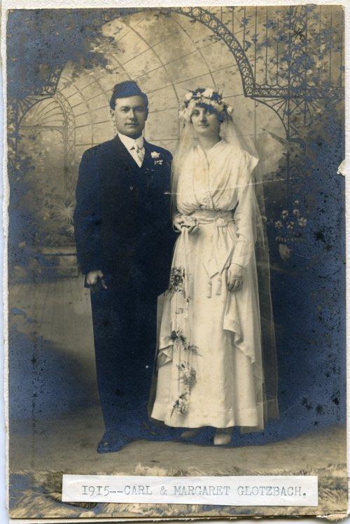 Carl and Margaret Glotzbach - Page