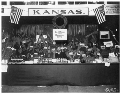 Wabaunsee County exhibit at fairgrounds - Page