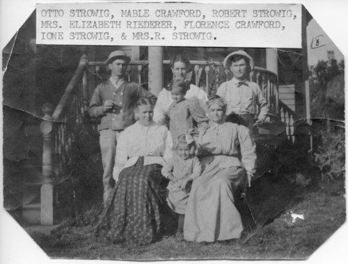 Strowig family, Paxico, Kansas - Page