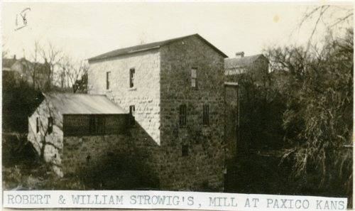Strowig Brothers' Mill, Paxico, Kansas - Page
