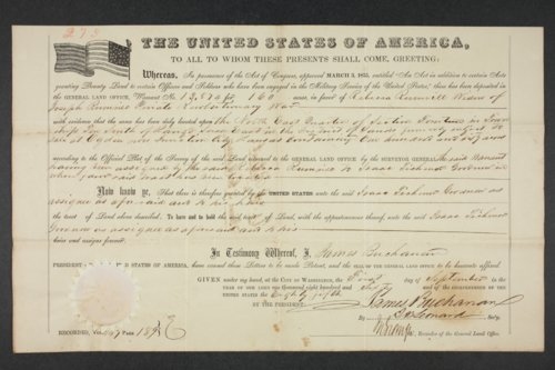 U.S. General Land Office patents - Page