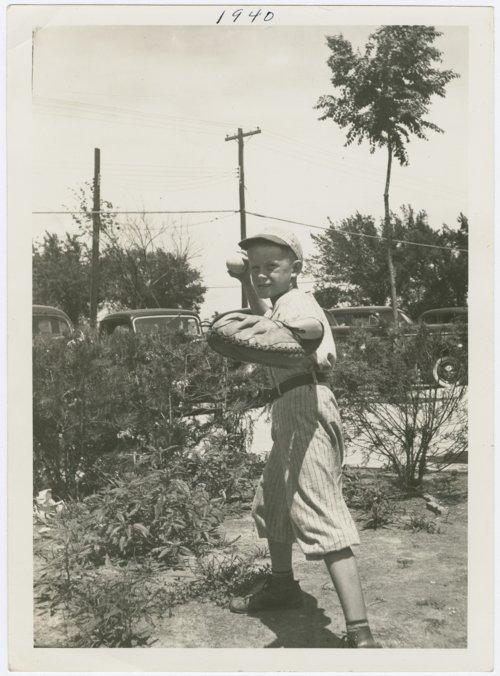 Bud Fawl, baseball player, Topeka, Kansas - Page