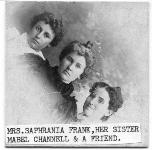 Three women in Chalk, Kansas - Page