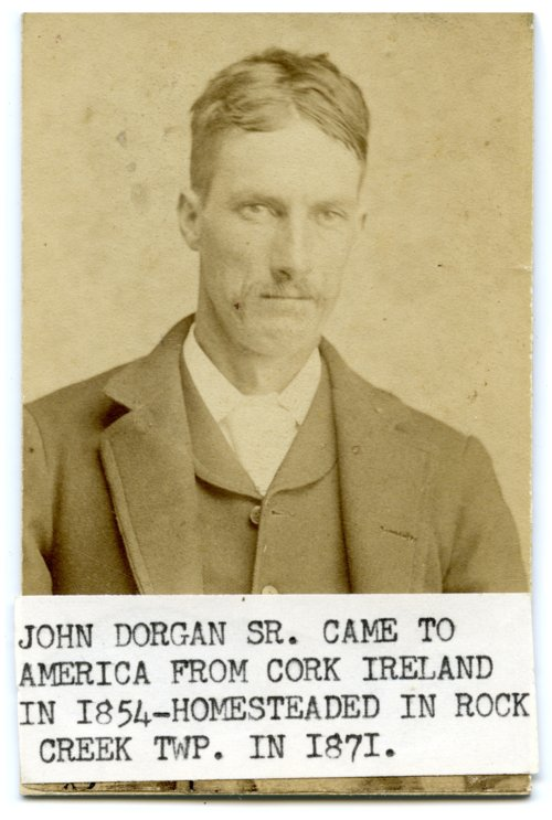 John Dorgan in Wabaunsee County, Kansas - Page