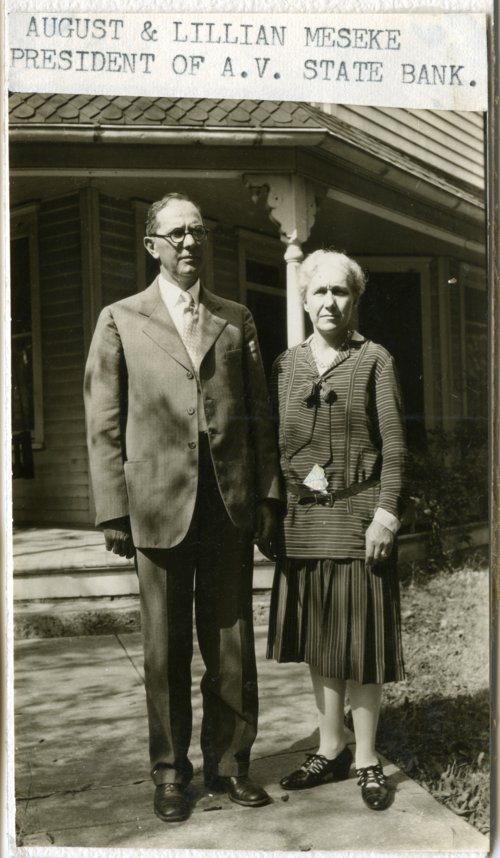 August and Lillian Meseke - Page