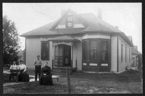 Travelers Rest boarding house in Wabaunsee County, Kansas - Page