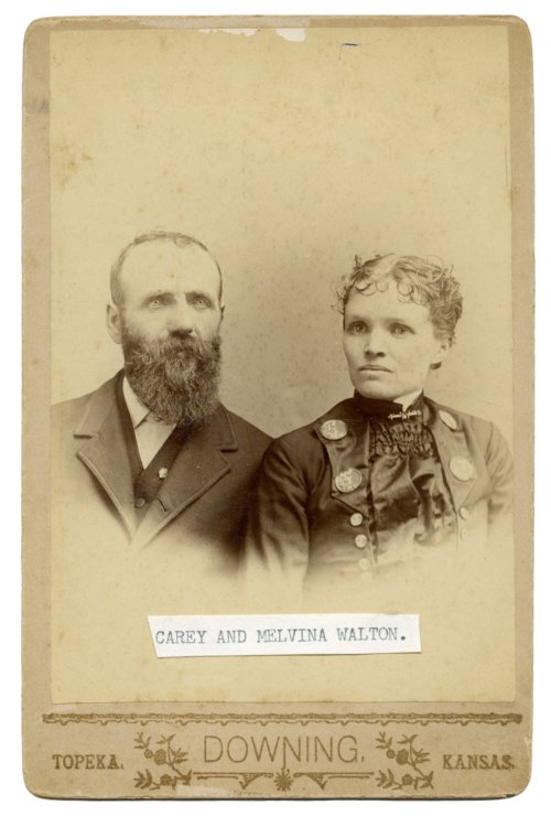 Carey and Melvina Walton - Page