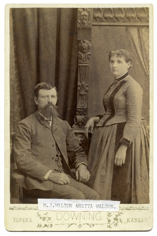 M. J. and Retta Walton - Page