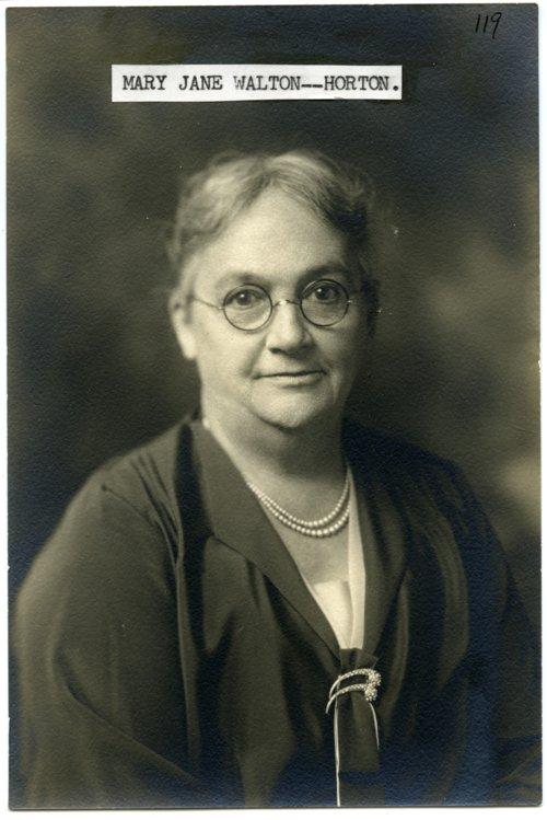 Mary Jane Horton - Page