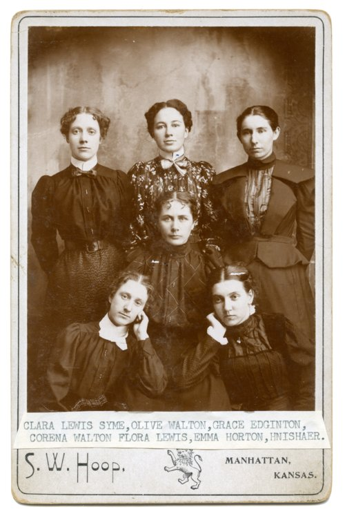 Six women from Harveyville, Kansas - Page