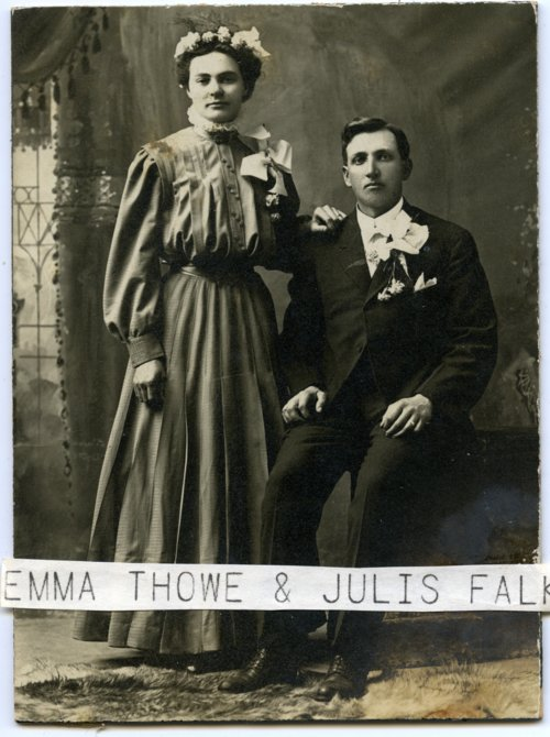 Emma and Julius Falk - Page