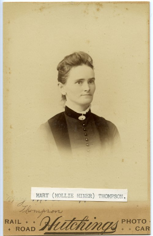Mary Thompson Hiner - Page