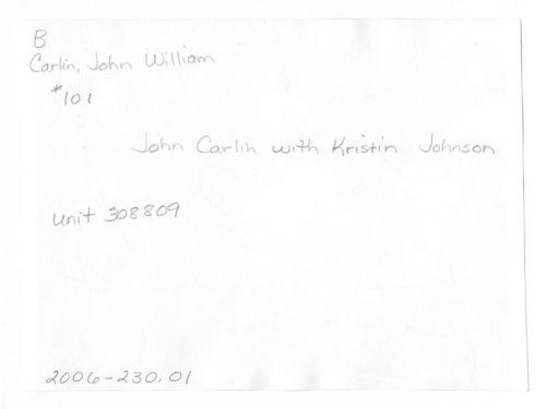 John William Carlin at an election campaign event, Smolan, Kansas - Page