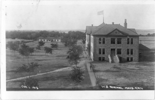 Western Branch of the Kansas Normal School at Hays, Kansas - Page