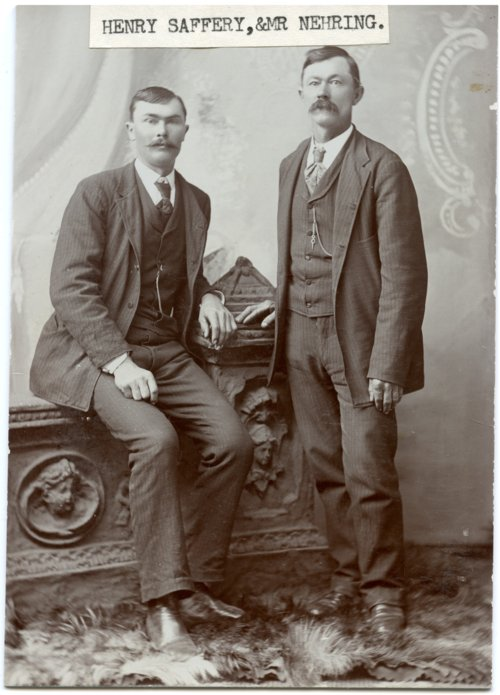Henry Saffry and Gotthelf Nehring - Page