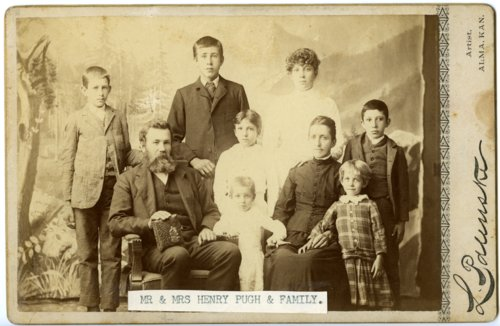 Henry Pugh family in Alma, Kansas - Page