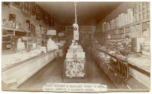 Simon Mercantile store interior, Alma, Kansas - Page