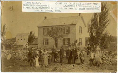 Falk family stone house, Alma, Kansas - Page
