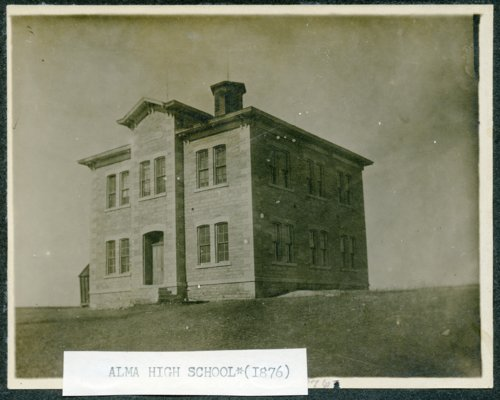Old high school, Alma, Kansas - Page