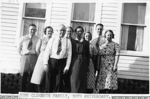 Clements family gathering, Maple Hill, Kansas - Page
