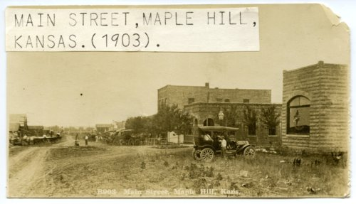 Main Street in Maple Hill, Kansas - Page