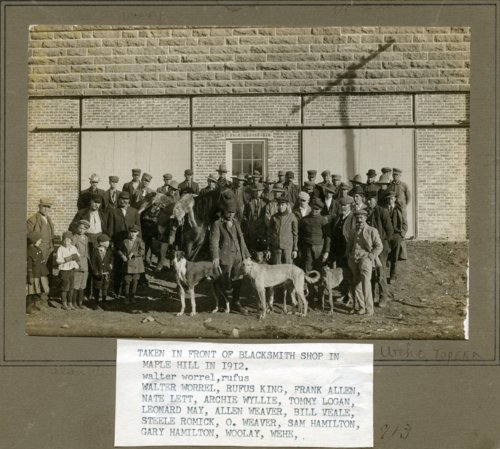 Coyote hunters in Maple Hill, Kansas - Page