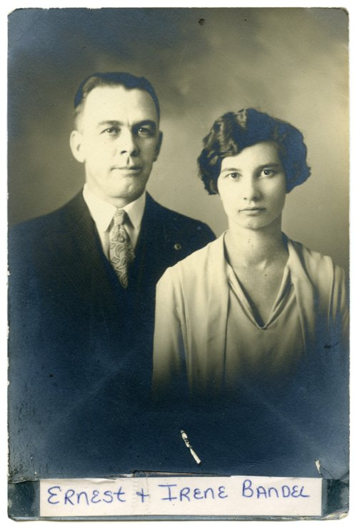 Ernest and Irene Bandel - Page
