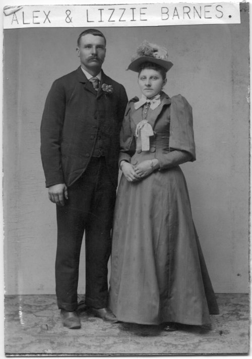 Alex and Elizabeth Barnes - Page