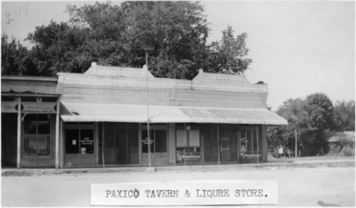 Johnny's Place tavern, Paxico, Kansas - Page