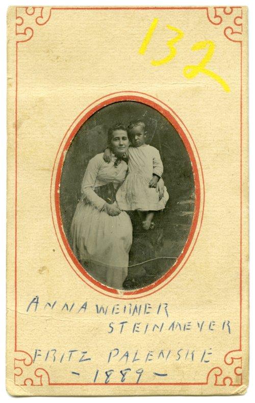 Anna Werner Steinmeyer and Fritz Palenske - Page