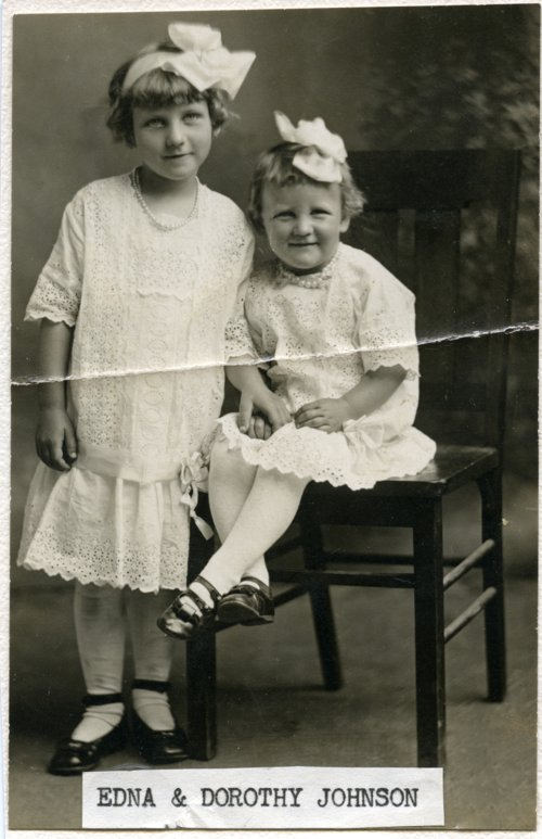 Edna and Dorothy Johnson - Page