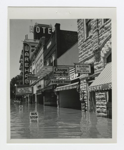 1951 flood scenes in Manhattan, Kansas - Page