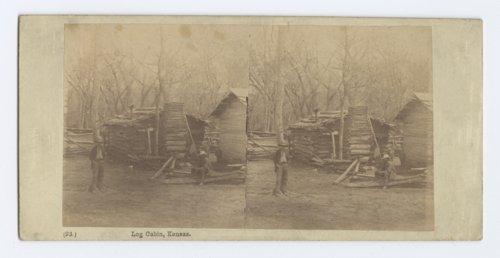 Log cabin in Kansas - Page