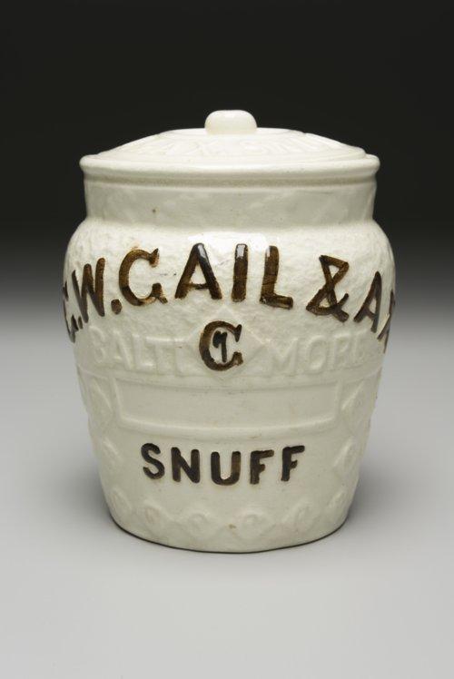 Snuff Jar - Page