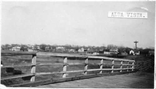 Street scenes in Alta Vista, Kansas - Page