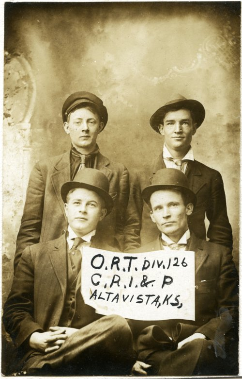 Organization of Railroad Telegraphers, Alta Vista, Kansas - Page